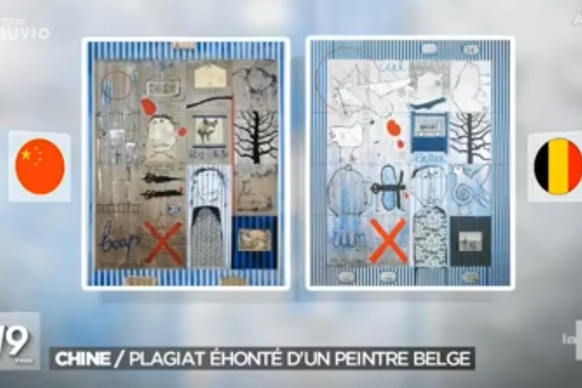 Ye Yongqing accused of plagiarising a Belgium artist's work for 30 years