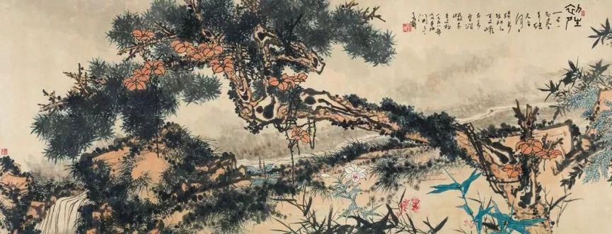 潘天寿创作全盛期开篇巨作《初晴》现身嘉德秋拍,有望刷新个人最高成交记录