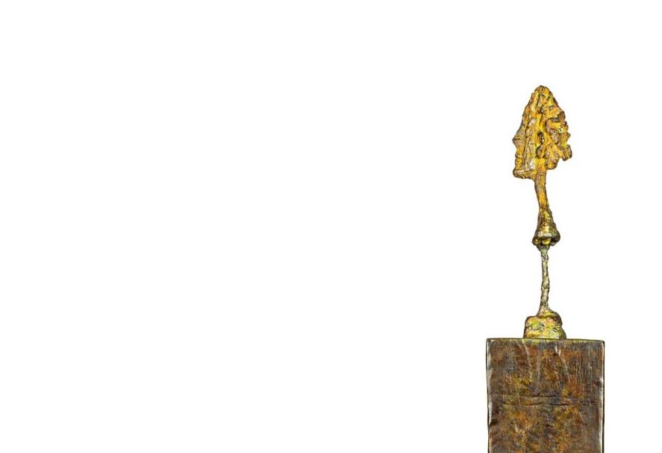 春拍巡礼丨阿尔贝托•贾科梅蒂《立柱上的半身小像》:全球最贵雕塑艺术家有望在中国艺术市场引起新激浪